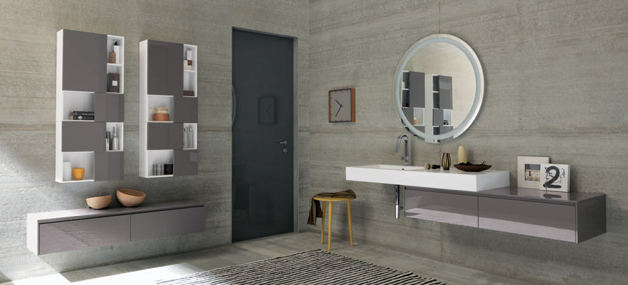 Mobili moderni da bagno arreda il tuo bagno con edil orlando - Mobili per lavandino bagno ...