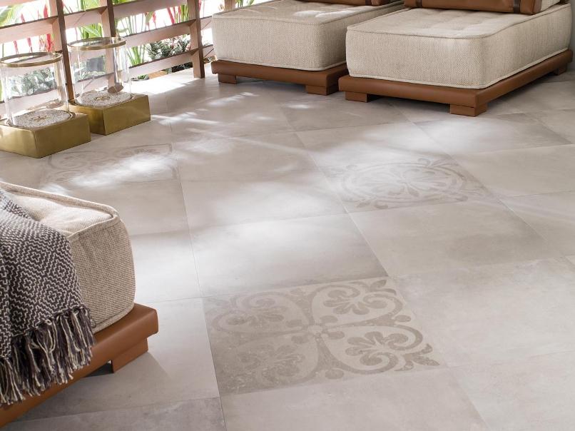 Pavimenti effetto cemento arreda la casa e l 39 ufficio - Ston ker porcelanosa ...