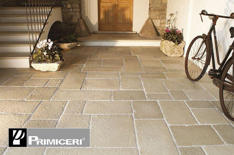 Pavimenti per esterno in gres e pietra edil orlando - Pietre pavimento giardino ...