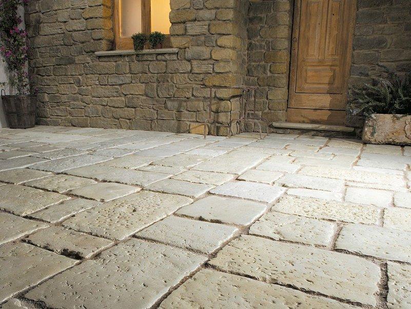 Pavimenti per esterno in gres e pietra edil orlando - Pavimenti in pietra per esterno ...
